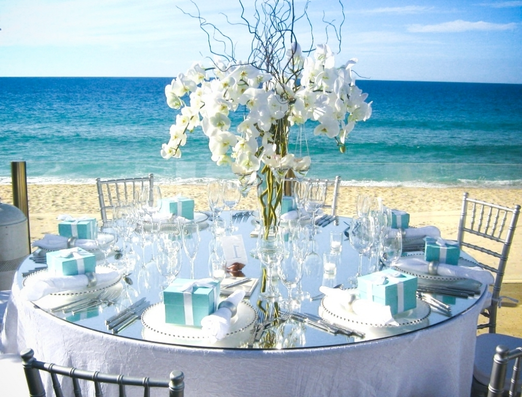 Beach Wedding Table Ideas Beach Wedding Table Decorations Beach